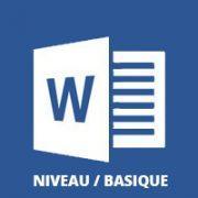 Word formation bureautique débutant