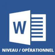 formation Word bureautique opérationnel