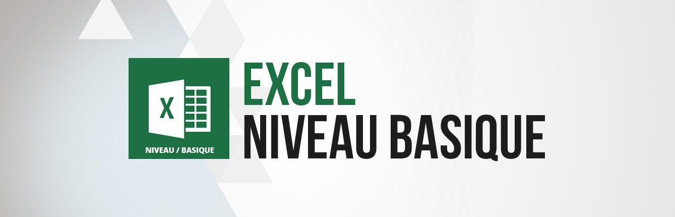 Formation Excel niveau basique débutant