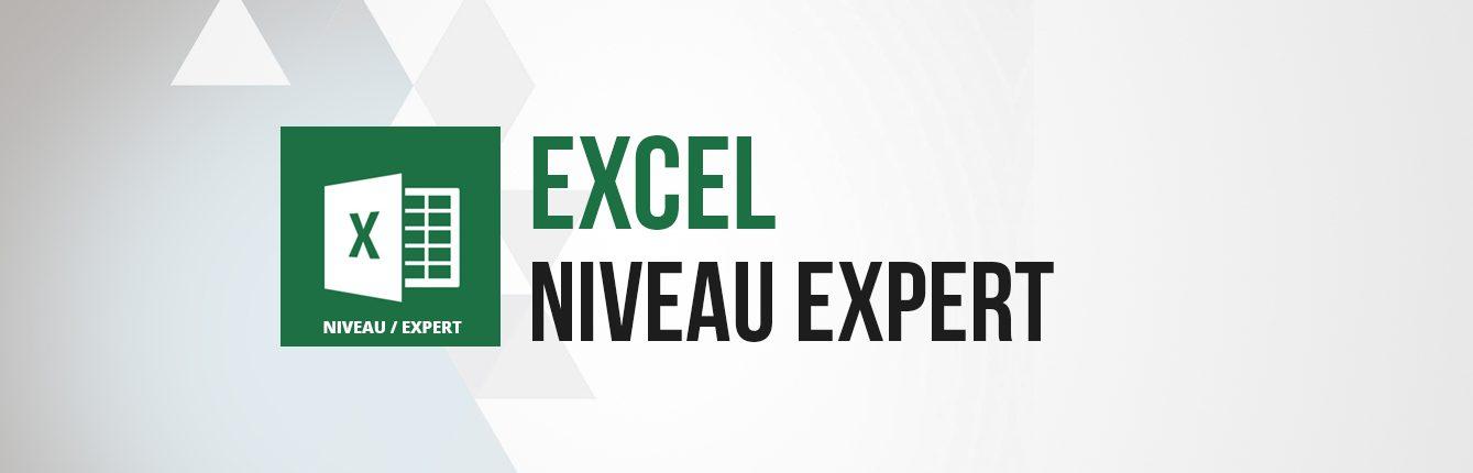 Formation Excel niveau expert