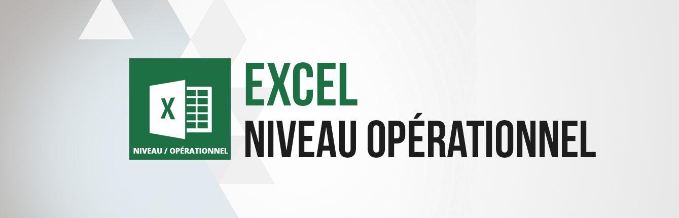 Formation Excel niveau intermédiaire opérationnel