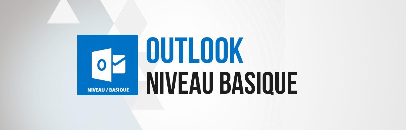 Formation Outlook niveau basique débutant