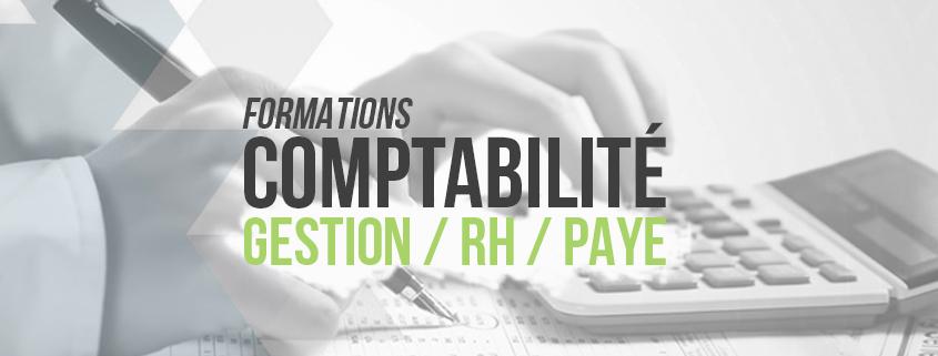 Formations en comptabilité, gestion, RH, Paye