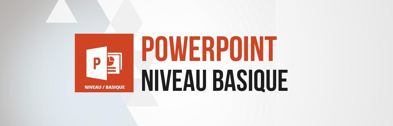 Formation Powerpoint niveau basique